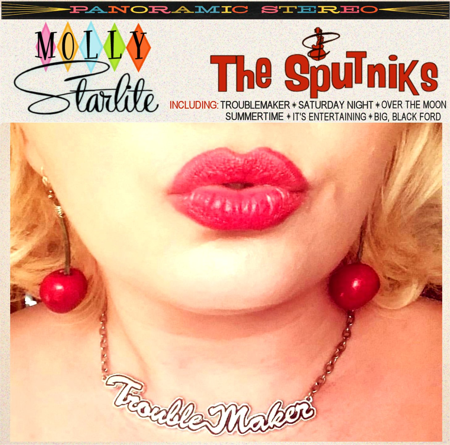 Troublemaker: The new EP from Molly Starlite and The Sputniks!